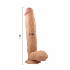 King Sized Ogromne Dildo 28 cm